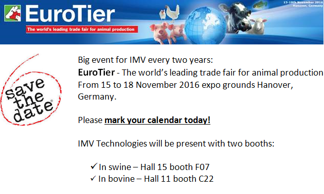 EuroTier 2016 is coming !