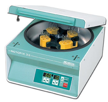 photo Centrifuge with swinging holders